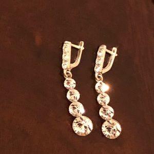 Swarovski Women's bracelet, earrings and necklace